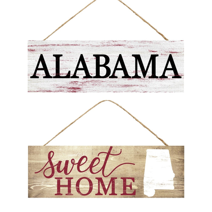 "15"" Alabama or Sweet Home Sign AP808399"