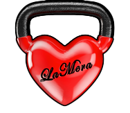 kettlebell with heart shape