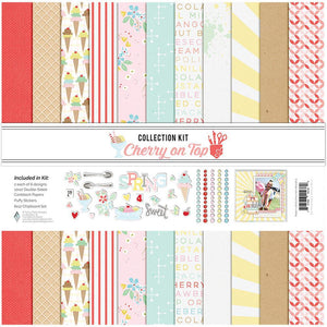 "Fancy Pants ""A Cherry on Top"" Paper Collection Kit"