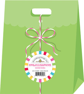DOODLEBUG Grab Bags- Stickers, Paper, Embellishments, Washi Tape, Braddies, Doodle-Pops