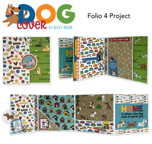 Craft Along VOLUME- April 2021- Photoplay Folio 4 Project Kit with Dog Lover or Little One