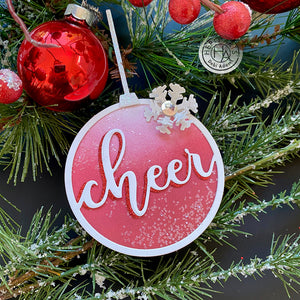 Hero Arts Ornament Dies - Wish, Cheer, Joy