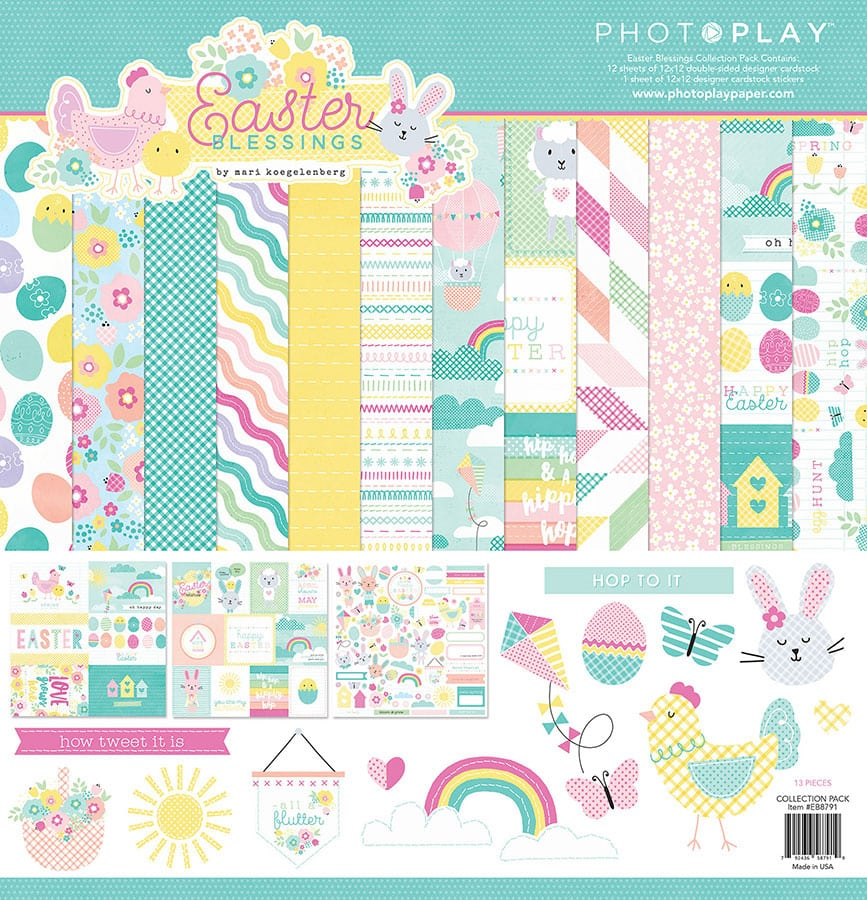 Photoplay Easter Blessings 12 x 12 Collection Kit