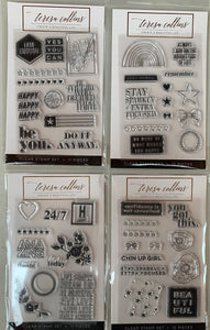 BUNDLE 23- Teresa Collins 4 Stamp Set