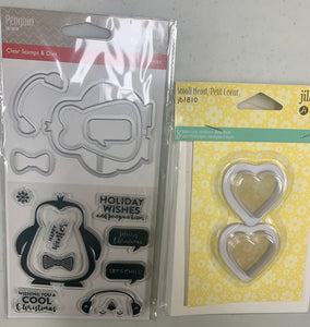 BUNDLE 6- Jillibean Soup Shaker Stamps/Cards/Cups Combos