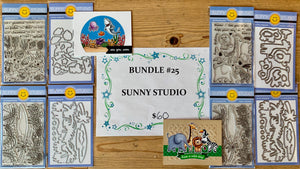 BUNDLE 25 -SUNNY STUDIO Jungle or Ocean Bundle