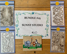 Load image into Gallery viewer, BUNDLE 25 -SUNNY STUDIO Jungle or Ocean Bundle
