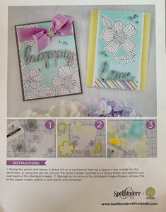 BUNDLE 15- Spellbinders/Fun Stampers Journey Card Class Kit Bundles