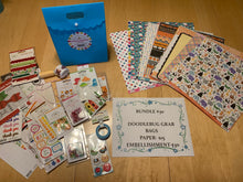 Load image into Gallery viewer, DOODLEBUG Grab Bags- Stickers, Paper, Embellishments, Washi Tape, Braddies, Doodle-Pops