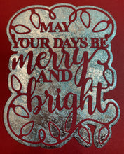 Load image into Gallery viewer, Creative Expression Merry & Bright Christmas Die