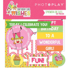 Load image into Gallery viewer, Photoplay Birthday Wishes Boy & Girl 12 x 12 Collection Packs, Ephemera