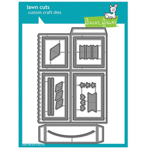 Lawn Fawn Scalloped Box Card Die