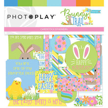 Load image into Gallery viewer, Photoplay BUNNY TRAIL 12 x 12 Collection Kit, Ephemera