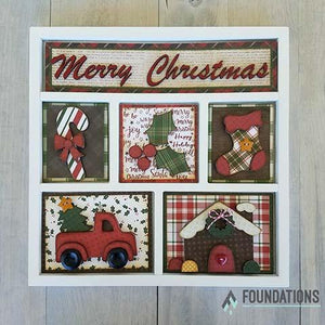BUNDLE 17A -FOUNDATIONS DECOR Magnetic Shadow Box Kits 25% OFF