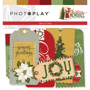 Photoplay Christmas Memories 12 x 12 Collection Kit, Ephemera, 6 x 6 Paper Pack
