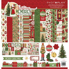 Load image into Gallery viewer, Photoplay Christmas Memories 12 x 12 Collection Kit, Ephemera, 6 x 6 Paper Pack