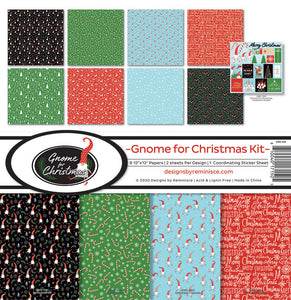 Reminisce Gnome for Christmas 12 x 12 Collection Pack