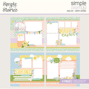Simple Stories Simple Pages Page Layout Kits- Magical Memories, You & Me, Ready. Set. Learn., Dreamer, Let's Get Away, Happy Spring, All My Love, Happy Together
