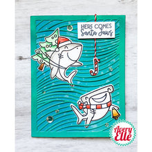 Load image into Gallery viewer, Avery Elle Christmas Santa Jaws Stamp and Die