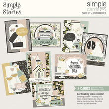Load image into Gallery viewer, Simple Stories Card Kits- Hello Lovely, Just Married, Sending Sunshine, Wish You Were Here