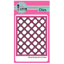 Load image into Gallery viewer, Pink & Main Dies- Fancy Lattice Cover Die, Stitched Slimline