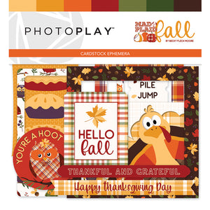 Photoplay Mad 4 For Plaid Fall 12 x 12 Collection Kit, Ephemera