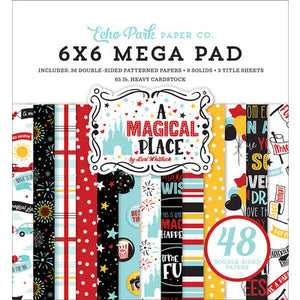 Echo Park A MAGICAL PLACE Collection Kit, 6x6 Pad, Ephemera, Chipboard