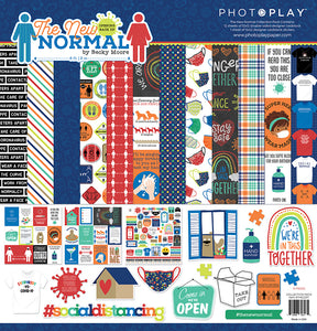 Photoplay The New Normal 12x 12 Collection Pack, Ephemera