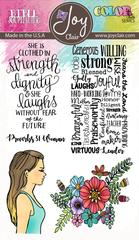 Joy Clair Proverbs 31 Stamp Set Virtuous Woman