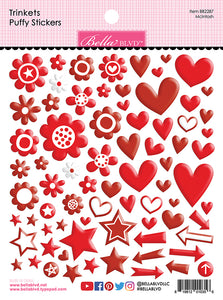 Bella Blvd Trinkets Puffy Stickers - All Colors
