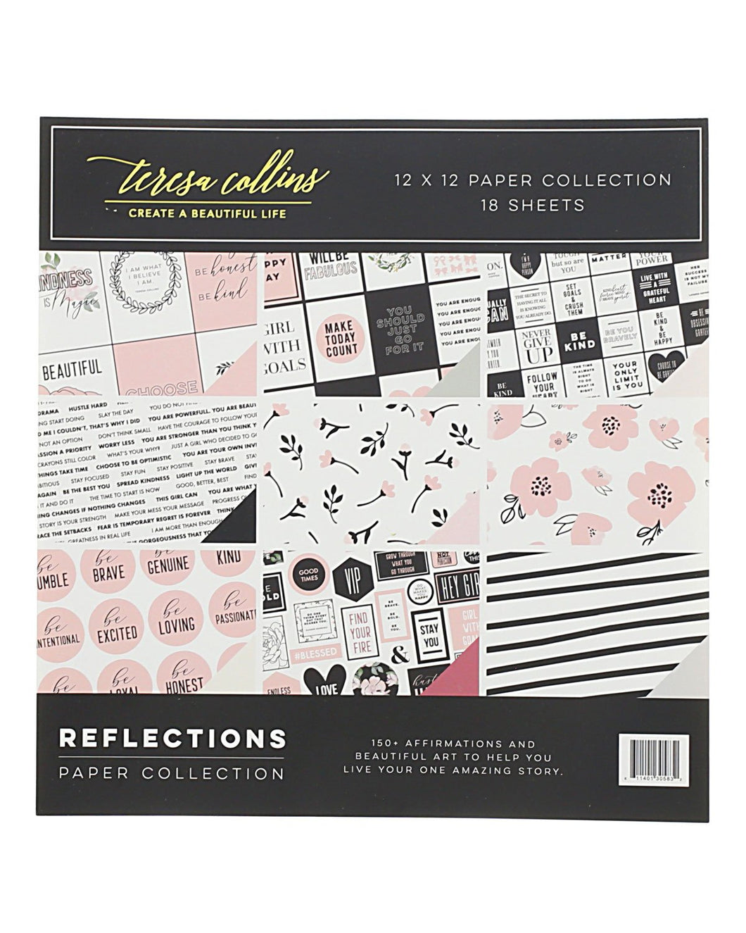 Teresa Collins Reflections 12 x12 Collection Pack