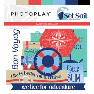 Photoplay SET SAIL 12 x 12 Collection Pack, Ephemera