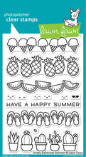 Load image into Gallery viewer, Lawn Fawn Simply Celebrate Summer Stamp and Die, Sentiment Stamp