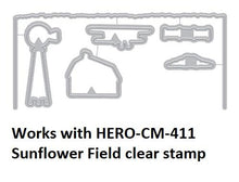 Load image into Gallery viewer, Hero Arts Heroscape Sunflower Fields Layering Stamp and Die Set