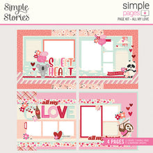 Load image into Gallery viewer, Simple Stories Simple Pages Page Kits- All My Love, Happy Together