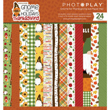 Load image into Gallery viewer, Photoplay Gnome for the Holidays THANKSGIVING 12x12 Collection Kit, 6x6 Paper Pad & Ephemera