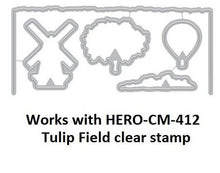 Load image into Gallery viewer, Hero Arts Heroscape Lavender Fields Layering Stamp and Die Set