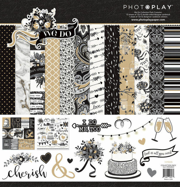 Photoplay WE DO 12x 12 Wedding Collection Pack