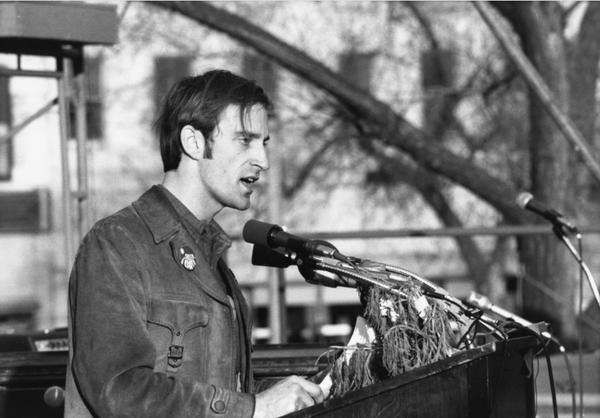 Activist Denis Hayes on Earth Day in 1970