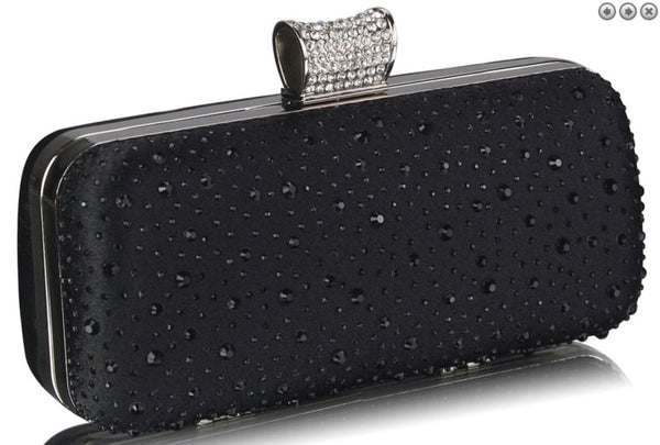 Black Sparkle Clutchbag