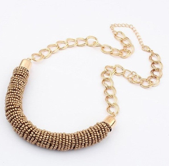 Canyon - Necklace Gold