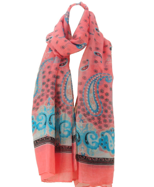 """Love Coral"" Scarf"