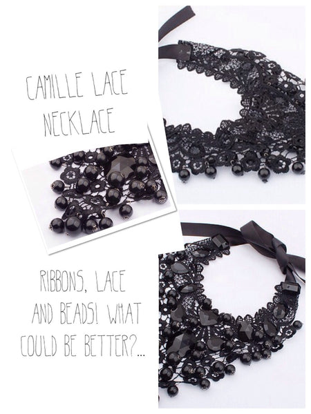 Camille - Lace Necklace