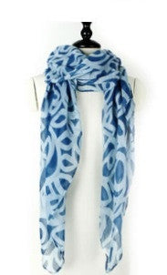 Midnight - Scarf/Wrap. Blue