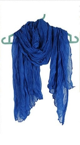 Heligan - Scarf Deep blue