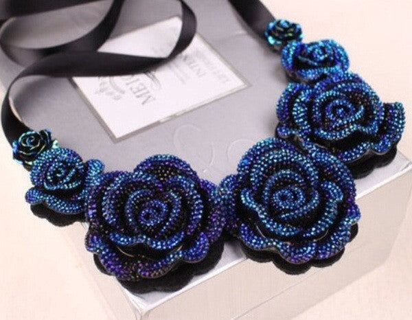 True Blue - Necklace