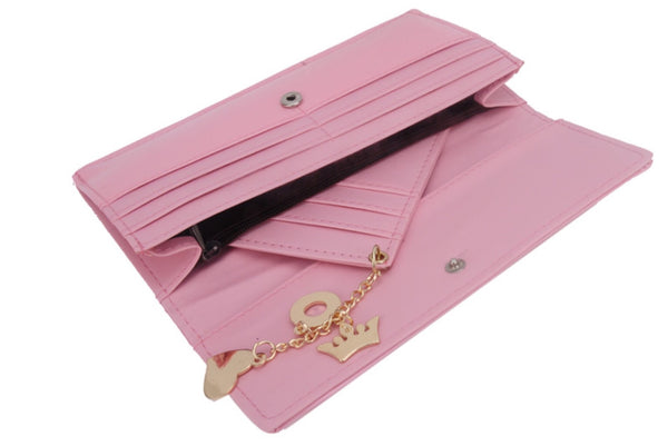 "Purse - ""Candy floss pink"""