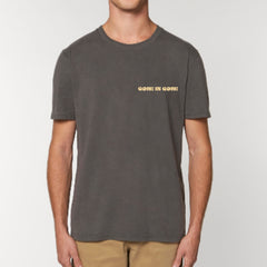 Gone Is Gone - If Everything Happens For A Reason...Then Nothing Really Matters At All - Gold LP + Grey T-Shirt