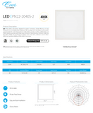 2  x 2 LED Light Fixture | Light Fixtures