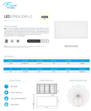 2 x 4 LED Light Fixture | Light Fixtures